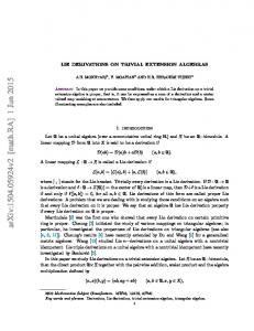 Lie derivations on trivial extension algebras