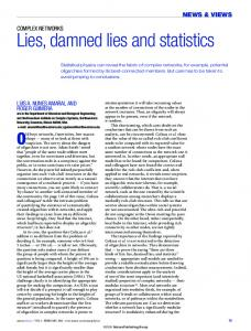Lies, damned lies and statistics - etsEQ