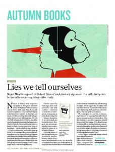 Lies we tell ourselves - Nature