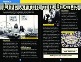 LIFE AFTER THE BEATLES - Scholastic