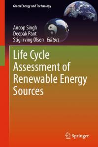 Life Cycle Assessment of Renewable Energy Sources - Springer Link
