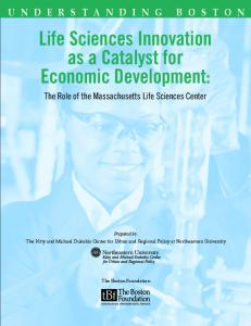 Life Sciences Innovation as a Catalyst for Economic Development: