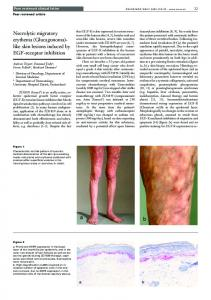 like skin lesions induced by EGF-receptor inhibition - Swiss Medical ...