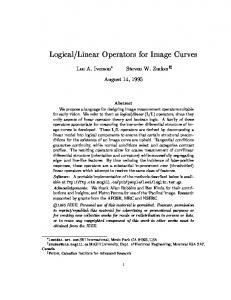 Linear Operators for Image Curves