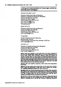 Linking and implementation of fuzzy logic control ... - Semantic Scholar