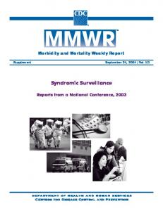 Linking Better Surveillance to Better Outcomes