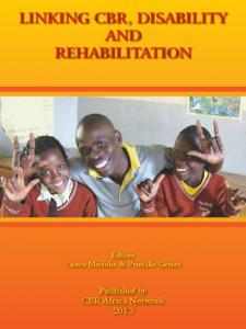 linking cbr, disability and rehabilitation - International disability and ...