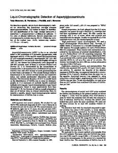Liquid-ChromatographicDetectionof ... - Clinical Chemistry