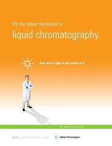 liquid chromatography. - T.E.A.M.