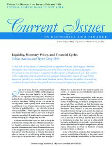 Liquidity, Monetary Policy, and Financial Cycles - SSRN