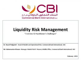 Liquidity Risk Management - GARP