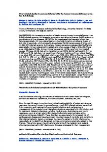 Liver-related deaths in persons infected with the human ... - Ummafrapp
