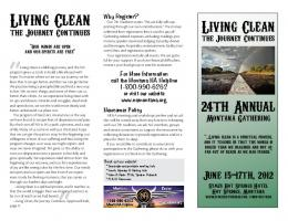 Living Clean - Montana Region Narcotics Anonymous