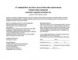 Living Clean_Campout_Flyer - Narcotics Anonymous