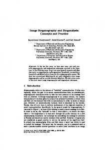 LNCS 2939 - Image Steganography and Steganalysis: Concepts and ...