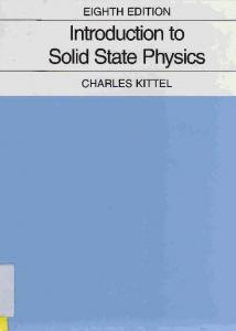 lnfroduction to Solid State Physics '- t n