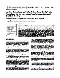 Local and Regional Features of Surface Radiation Fluxes ... - Iag Usp