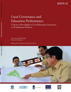 Local Governance and Education Performance