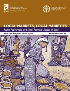 Local Markets, Local Varieties: Rising Food Prices ... - AgEcon Search