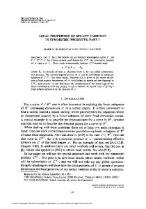 local properties of secant varieties - American Mathematical Society