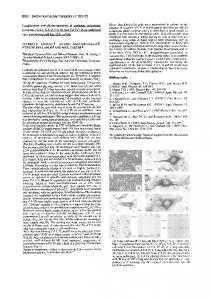 Localisation and characterisation of carbonic anhydrase isozymes (CA ...