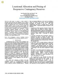 Locational Allocation and Pricing of Responsive ... - IEEE Xplore