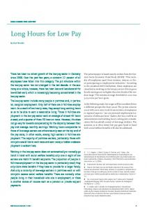 Long Hours for Low Pay