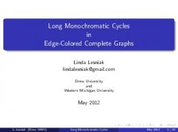 Long Monochromatic Cycles in Edge-Colored Complete Graphs