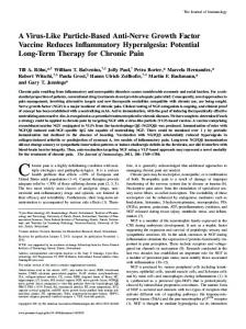 Long-Term Therapy for Chronic Pain Inflammatory Hyperalgesia ...