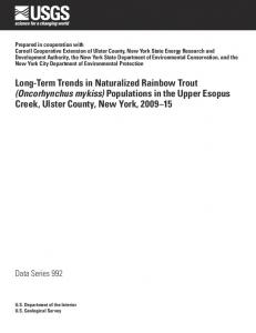 Long-Term Trends in Naturalized Rainbow Trout (Oncorhynchus mykiss)