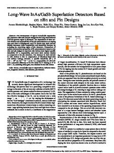 Long-Wave InAs/GaSb Superlattice Detectors Based on nBn and Pin ...