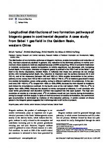 Longitudinal distributions of two formation pathways ...
