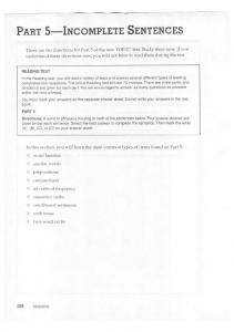 Longman Preparation Series For The TOEIC Test- Part 5 Reading