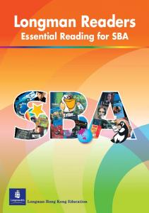 Longman readers for SBA - Longman Express