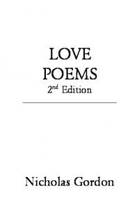 LOVE POEMS - Poems for Free