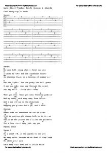 Love Story-Taylor Swift lyrics & chords - Traditional Music Library