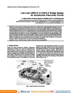 Design of a low cost multi channel data logger arpn journals low cost usb20 to can20 bridge design for sciox Image collections