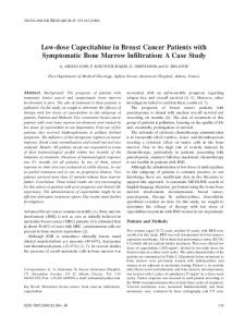 Low-dose Capecitabine in Breast Cancer Patients with Symptomatic ...