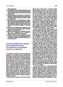 Low-dose prednisolone in patients with ... - KoreaMed Synapse