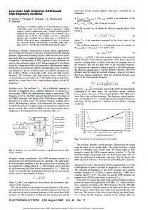 Low-noise high-resolution BAW-based high-frequency oscillator