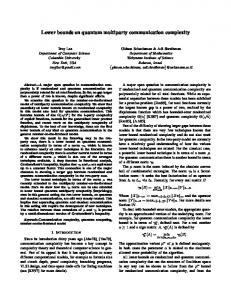 Lower bounds on quantum multiparty communication complexity