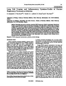 Lung Cell Tropism and Inflammatory Cytokine ... - Semantic Scholar