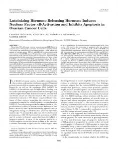 Luteinizing Hormone-Releasing Hormone Induces ... - CiteSeerX