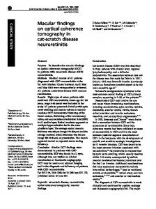 Macular findings on optical coherence tomography in cat ... - Nature