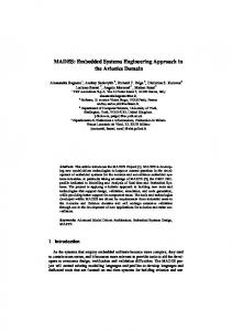 MADES: Embedded Systems Engineering ... - Semantic Scholar