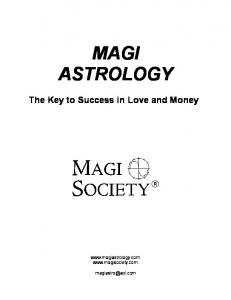 MAGI ASTROLOGY - Benevolent Design