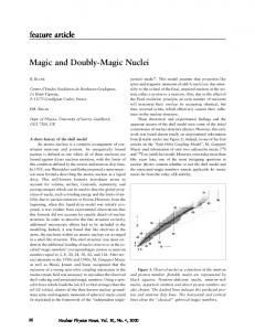 Magic and Doubly-Magic Nuclei