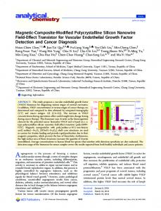 Magnetic-Composite-Modified Polycrystalline Silicon Nanowire Field ...