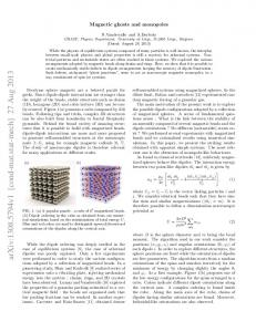 Magnetic ghosts and monopoles