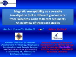 Magnetic susceptibility as a versatile investigation tool